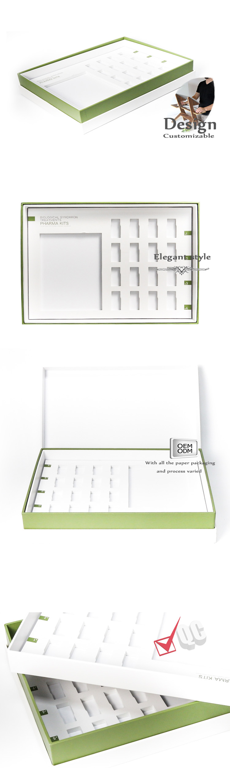 health care products packaging box