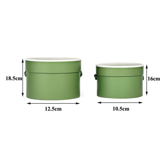 Round Hat Flower Boxes